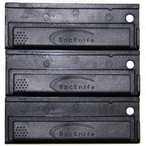 3 Black Utility Blade Holders