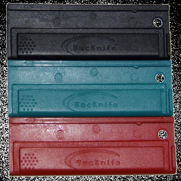 3 color utility blade holder