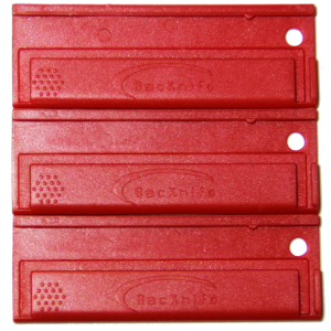 Red Utility Blade Holders 3pack