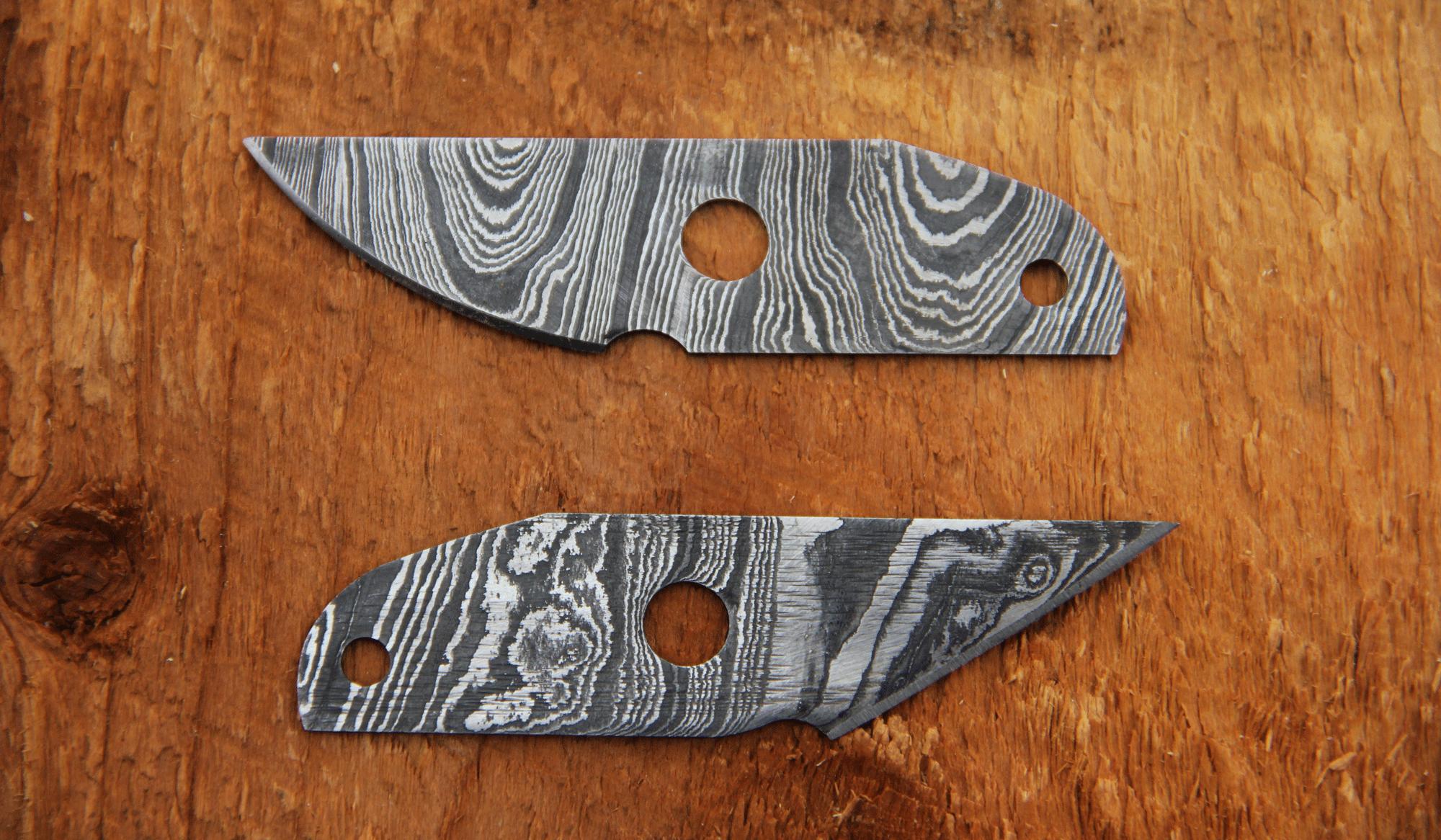 Damascus Utility Blades